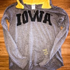 Iowa Victoria's Secret Pink Pullover long sleeve
